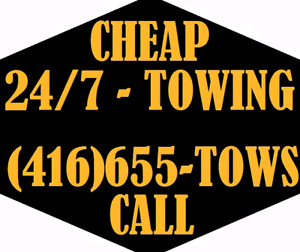 CHEAP TOW TRUCK SERVICES - FLATBED