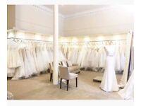 Bulk buy - 50 Designer sample gowns for sale.