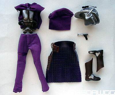 1 6 Zam Wessel Female Outfit Set Star Wars By Hasbro For 12  Bounty Hunter