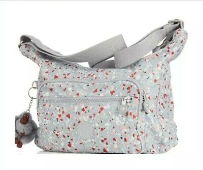 Kipling Alledra Light Grey Speckle Bag .
