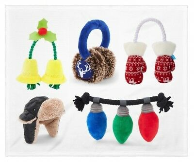 Bark A Winters Tail Dog Puppy Christmas Holiday Barkbox Play Toys You Pick Style