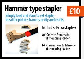 Hammer type Stapler £10