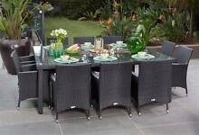 Rattan Living 11 Piece Dining Setting - BRAN NEW SETTING Angle Park Port Adelaide Area Preview