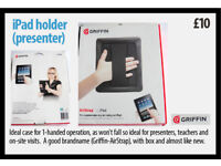 iPad case/cover - which allows for single handed operation - ideal for presentations £10