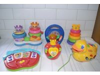 Bundle of baby/toddler toys. Fisher price, Vtech etc