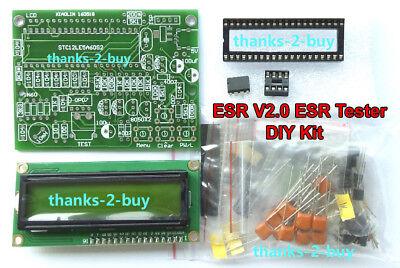 Dc 5v-9v Lcr Esr Tester Transistor Inductance Capacitance Resistance Esr Meter