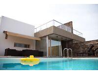 Luxury villa with a heated pool in Costa Adeje, Tenerife