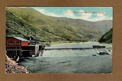 Rathdrum  Kootenai County Id Idaho  Highland Power Dam    Used 1915 Rathdrum