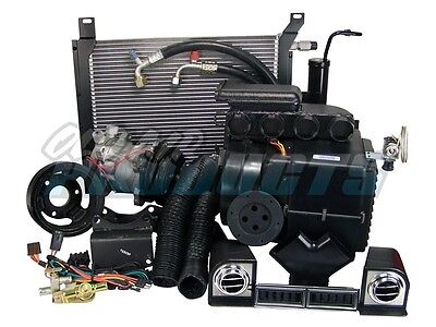 1967 1968 Ford Mustang 6-Cyl Cable Operated A/C & Heat System Air Conditioning
