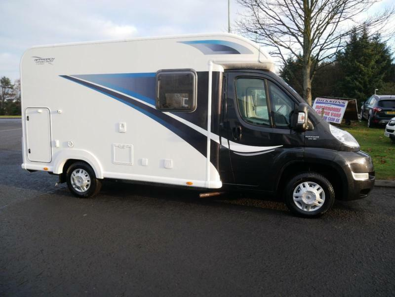 BAILEY Approach Compact 520 2 Berth Motorhome Peugeot BOXER 335 ZUCKOFF TL HDI