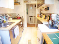 3 DOUBLE Bed flat, seconds from tube, WOOD FLOORS, MODERN SEPARATE KITCHEN, MOSAIC TILED BATHROOM