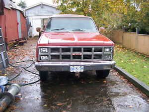 1982 GMC Sierra 2500 Pickup Truck