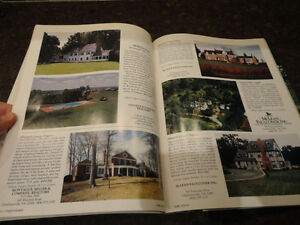 Vintage 1987 Unique Homes -The Magazine of Luxury Real Estate Kitchener / Waterloo Kitchener Area image 6