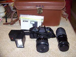 Pentax SLR camera