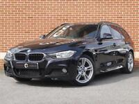 2015 15 BMW 3 Series 2.0 320d M Sport Touring xDrive 5dr (Black, Diesel)