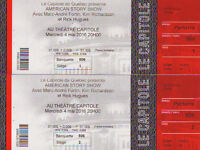 American Story show au Capitole