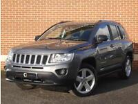 2012 12 Jeep Compass 2.4 Limited CVT 4WD 5dr (Grey, Petrol)