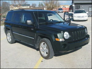 2010 Jeep Patriot 4X4 $8,495 + hst  or $235 / month OAC*