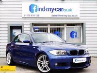 2009 09 BMW 120d 2.0 M Sport Coupe Le Mans Blue LEATHER | BLUETOOTH | FSH