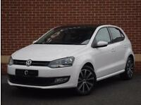 2014 14 Volkswagen Polo 1.4 Match Edition 5dr (White, Petrol)