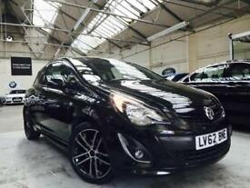 2012 Vauxhall Corsa 1.4 i 16v Black Edition Hatchback 3dr Petrol Manual