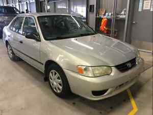 2001 Toyota Corolla CE only 131000km!!! new safety command start