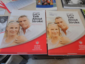 A Number of Pamphlets regarding a Stroke -Free for Porch P/U Kitchener / Waterloo Kitchener Area image 2