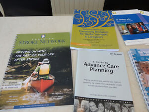 A Number of Pamphlets regarding a Stroke -Free for Porch P/U Kitchener / Waterloo Kitchener Area image 4