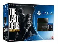 Playstaion 4 Last of Us Edition - Mint Condition $400 OBO