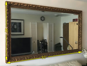 Custom Made Top Quality Gold Decorative Wall Mirror