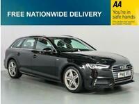 2018 Audi A4 2.0 AVANT TDI ULTRA S LINE 5d AUTO 188 BHP Estate Diesel Automatic