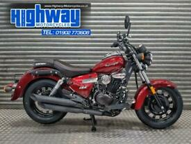 2020 Keeway Superlight 125 Custom Cruiser Motorcycle