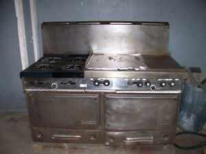 Large 4 Burner Stove