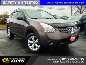 2010 Nissan Rogue S | SAFETY & E-TESTED