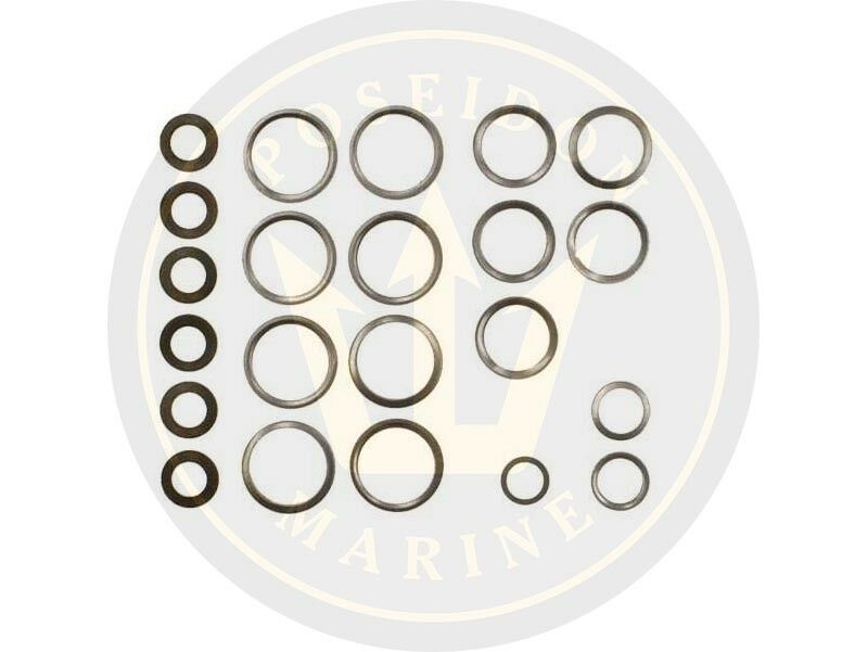 Fuel washer seal kit fuel pipe for Volvo Penta MD17D