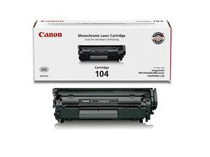 Genuine Canon Toner Cartridge 104