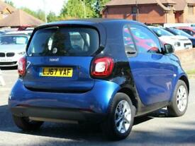 2017 smart fortwo coupe 1.0 Passion 2 Door Automatic Coupe Petrol Automatic
