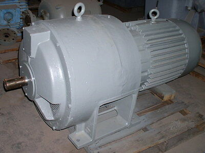 100 Hp Delco Eddy-current Type Variable Speed Drive