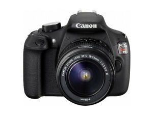 Canon EOS Rebel T5 DSLR Camera With 18-55mm Lens Kit