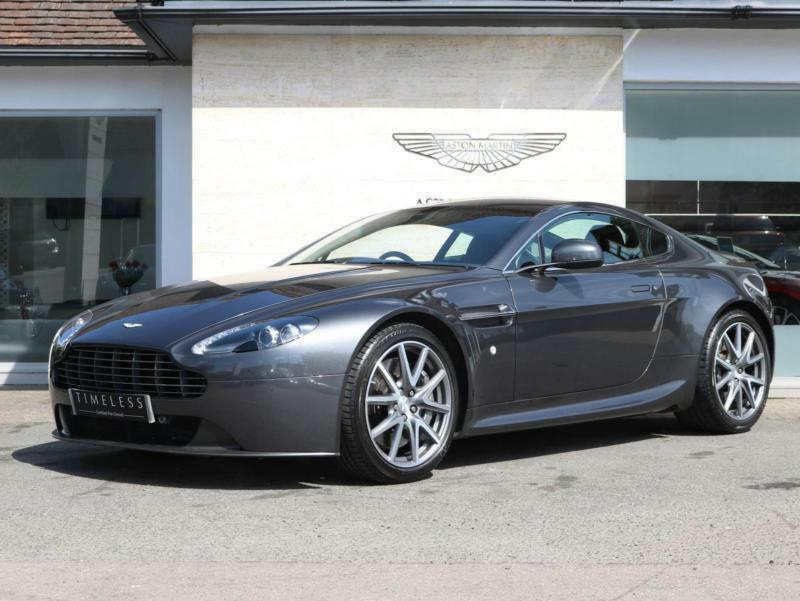 2012 Aston Martin V8 Vantage Coupe 2dr 420 Manual Petrol Coupe