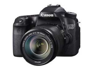 Canon EOS 70D Digital SLR Camera with 18-135mm STM Lens for Sale