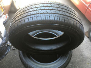 245/40/17 Continental ContiPro Contact TIRES X4 95% TREAD