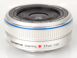 Olympus M. Zuiko 17 mm f 2.8 lens (for mirrorless camera)