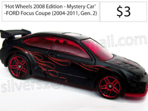 - HOT WHEELS 'Ford Focus Hatchback Coupe ST RS' (Various) -