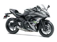 Pre Reg 2018 Kawasaki Ninja 650 Middleweight Starting From £5,995