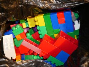 HUGE lot of large Mega Bloks - Willing to sell smaller sets