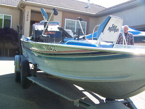 Sea Nymph Bass Boat For Sale