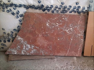 SLAB OF VINTAGE RARE MARBLE TOP