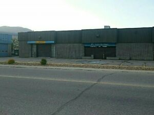Salmon Arm -  Office space and large pull through garage bay