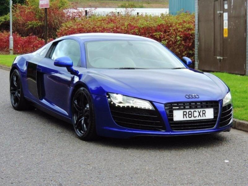 2009 audi r8 4 2 fsi v8 quattro 2dr in glasgow gumtree. Black Bedroom Furniture Sets. Home Design Ideas